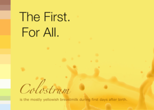 Colostrum info card front